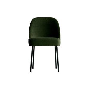 BePureHome Vogue dining chair Velvet Onyx