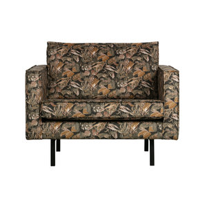 BePureHome Rodeo armchair bouquet black