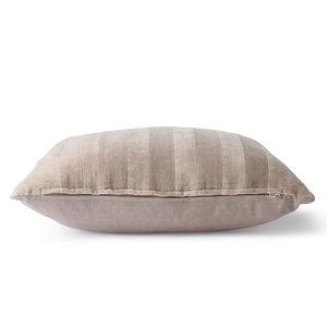 HKliving HKliving striped velvet pillow