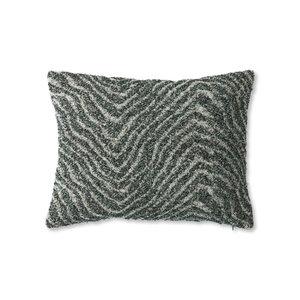 HKliving Cushion jacquard weave cushion zigzag