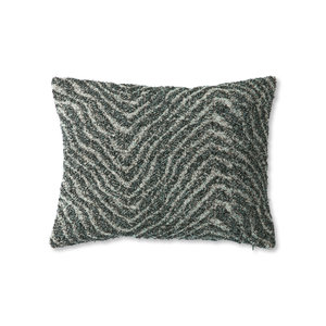 HKliving DORIS for HKLIVING: jacquard weave cushion zigzag (30x40)