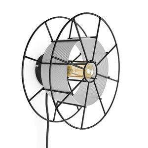 TOLHUIJS SPOOL Wall Lamp Black