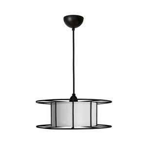 TOLHUIJS SPOOL  Hang  Lamp Black