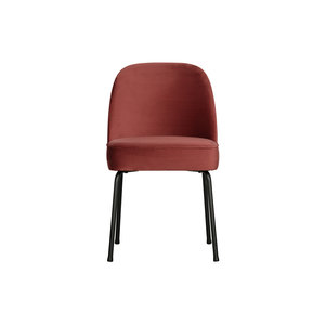 BePureHome Vogue Dining chair Velvet Ink or chestnut