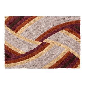 BePureHome Optimistischer Teppich mehrfarbig