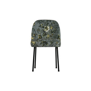 BePureHome Vogue dining chair Velvet multicolor