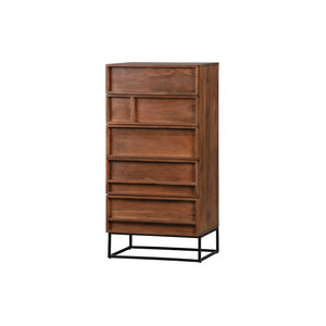 WOOOD Forrest 5 chest of drawers mango wood natural