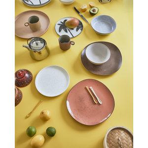HKliving HKliving bold & basic ceramic: teaspoons (set of 4)