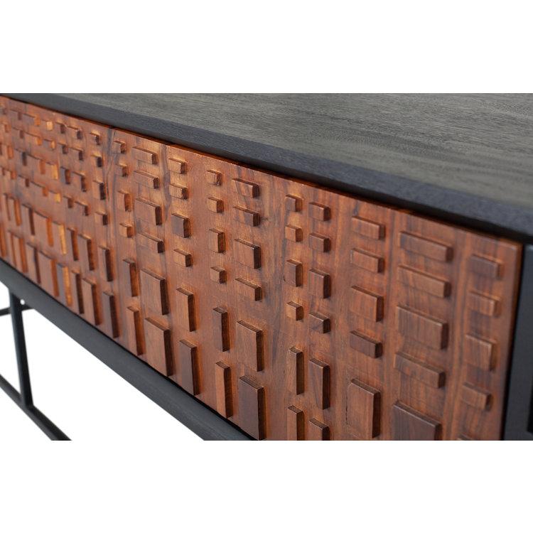 BePureHome BePureHome Nuts TV cabinet wood walnut / black