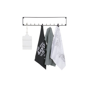 WOOOD WOOOD Coat rack Meert 10 hooks metal black