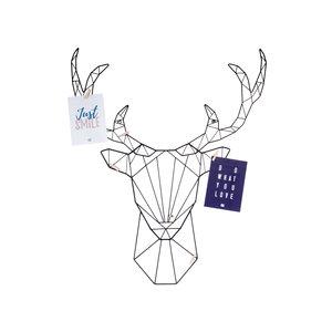 Present Time Memo rack LINEA deer