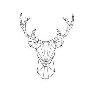 Present Time Present-time memo rack LINEA deer