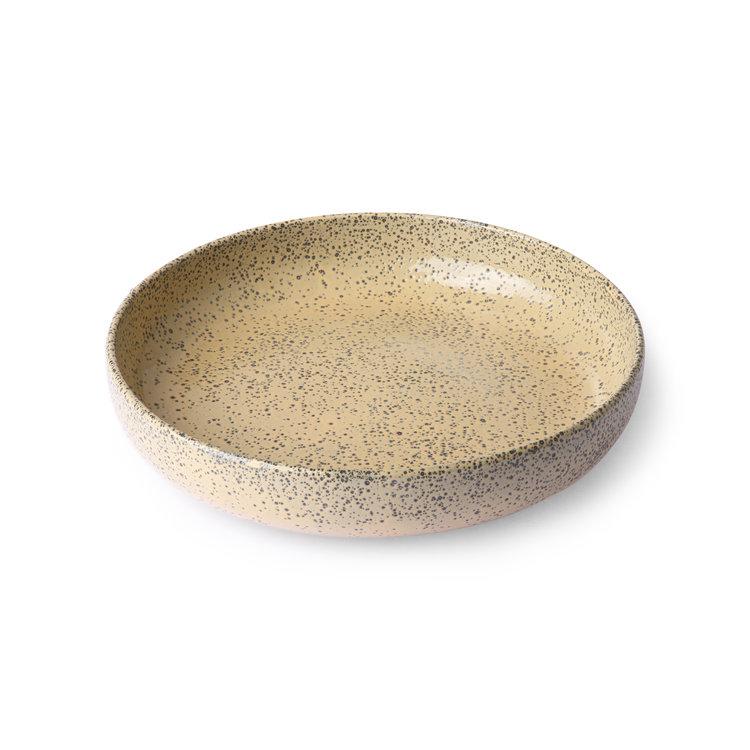 HKliving HKliving Gradient Ceramic deep plates ø 21.5 cm  - set of 2 pieces
