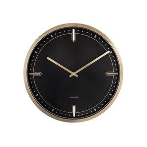 Present Time Dots & Batons Wall Clock