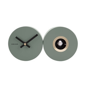 Present Time Karlsson wall clock duo cuckoo