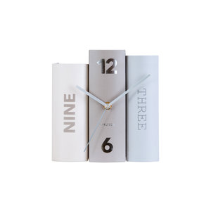 Present Time book table clock
