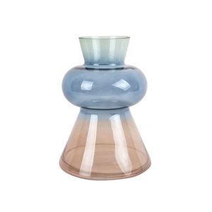 Present Time Vase Wintertraum 3 Farben Glas