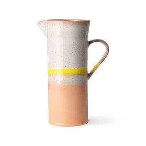 HKliving Kann 70er Keramik Sonnenaufgang