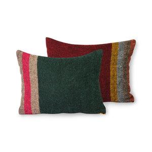 HKliving flauschiges Kissen bunt (30x40)