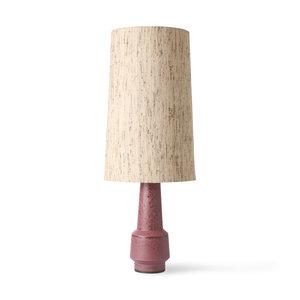 HKliving HKliving cone lampshade silk natural (ø36cm)