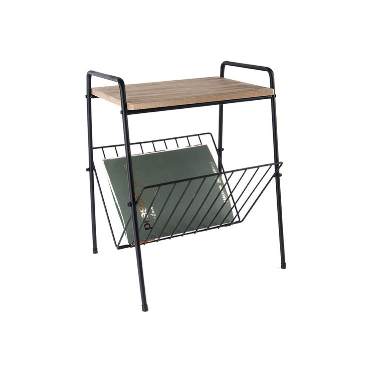 Present Time Present Time side table with magazine rack