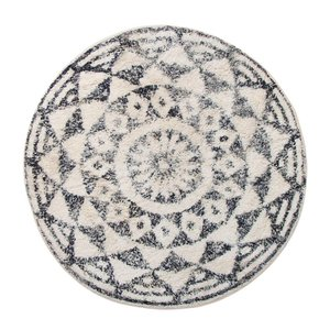 HKliving Bathmat Round Cotton Ø 80