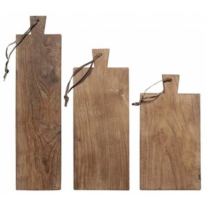 HKliving Broodplanken Hout Set van 3