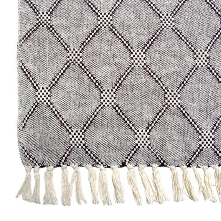 HKliving HKliving Plaid Diamond grey