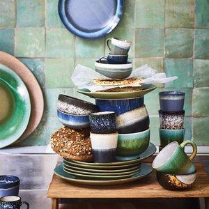 HKliving HKliving Dinerbord 70's keramiek groen