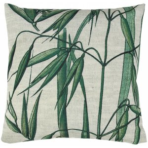 HKliving Pillow with bamboo print
