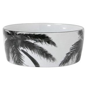 "HKliving Porzellanschale ""Palm"" Dschungel"