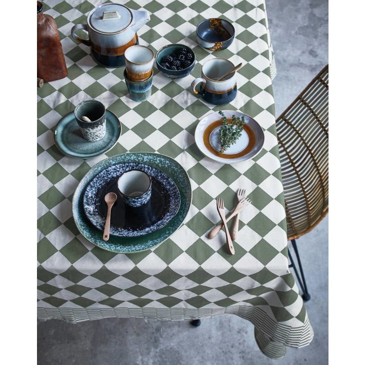 HKliving HKliving Mok 70's Keramik 'Schlamm' 2er Set