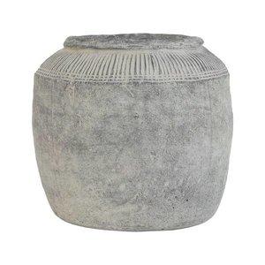 HKliving Bloempot cement L