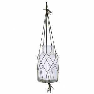 HKliving Hanging glass vase L
