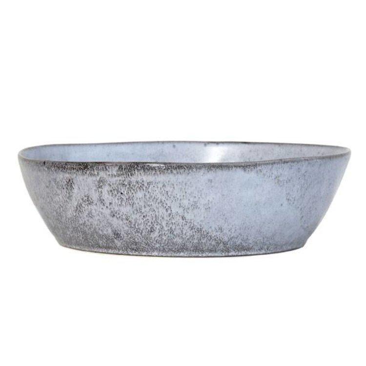 HKliving HKliving Keramikschale L rustikal grau