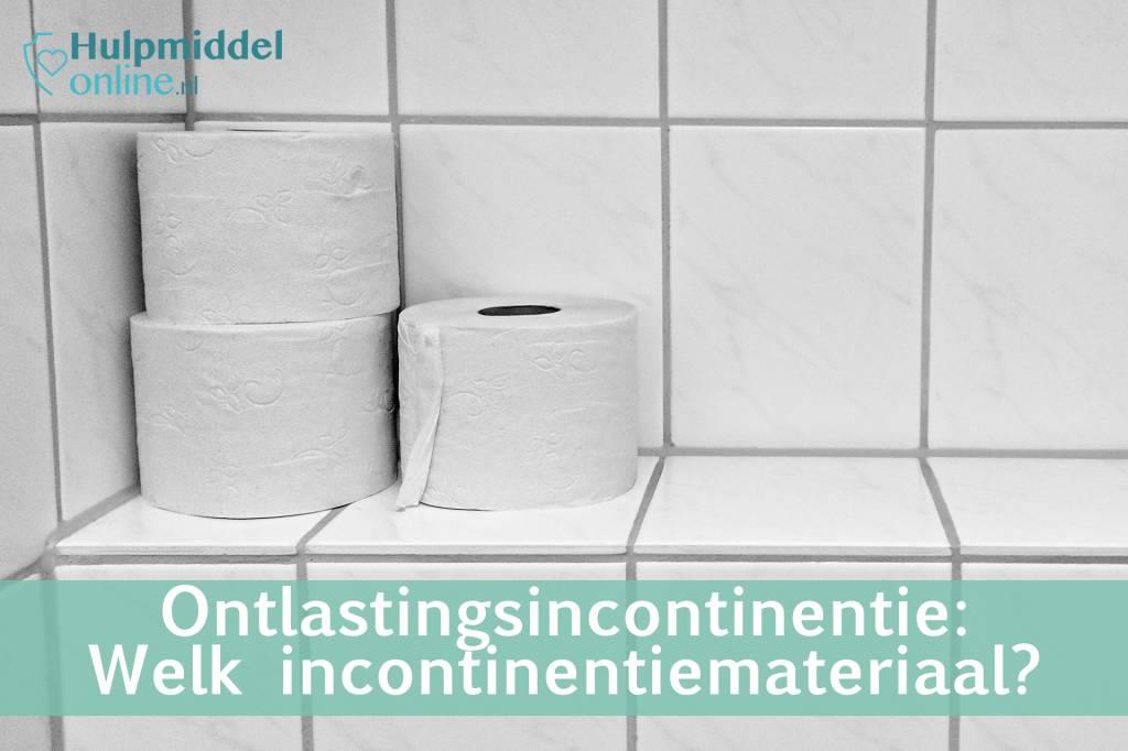 Ontlastingsincontinentie: welk incontinentiemateriaal heb ik nodig?