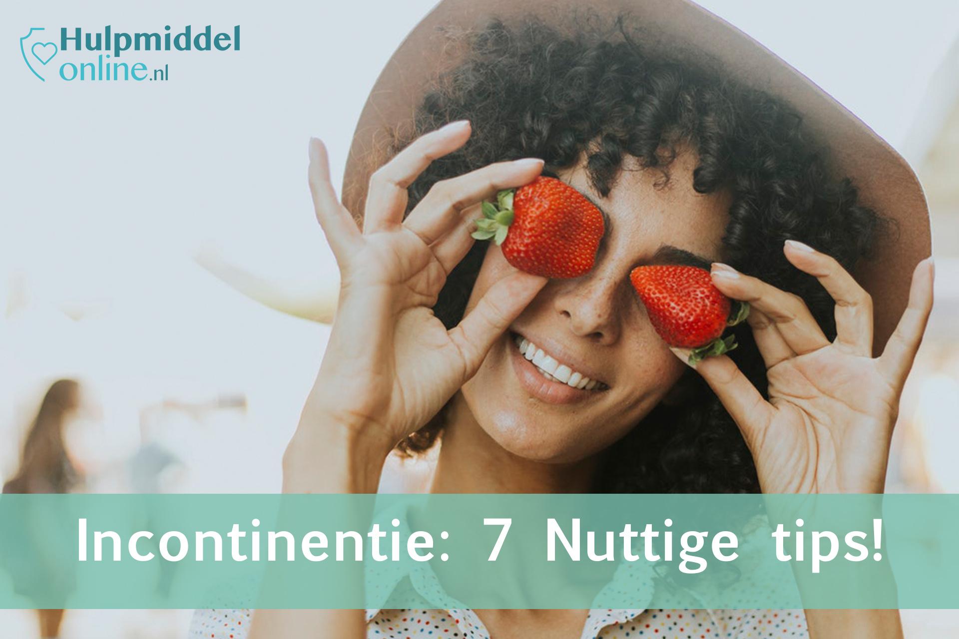 Incontinentie; 7 nuttige tips!