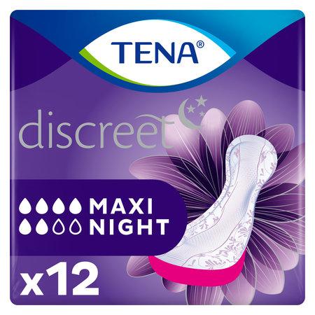 TENA Discreet Maxi Night verbanden - 10 pakken