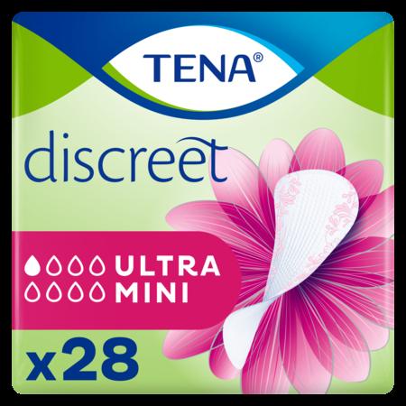 TENA  Discreet Ultra Mini inlegkruisjes - 10 pakken