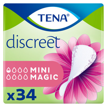 TENA Discreet Mini Magic  34 stuks