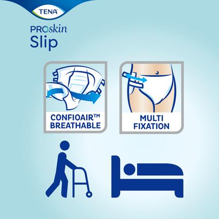 TENA Slip Plus ProSkin Large