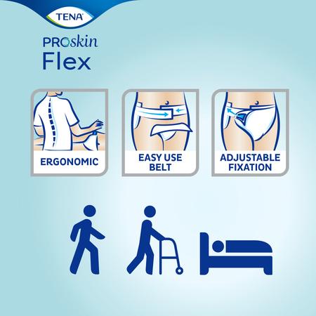 TENA Flex Plus ProSkin Medium