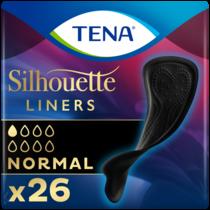 TENA Silhouette Normal Noir Inlegkruisjes