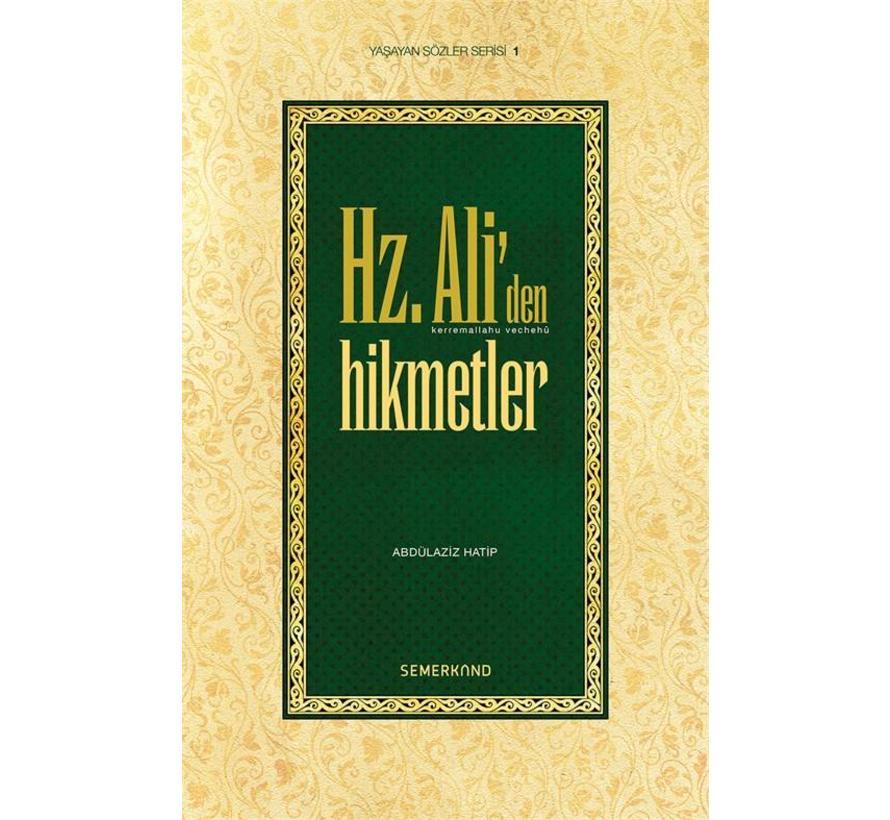 Hz. Aliden Hikmetler