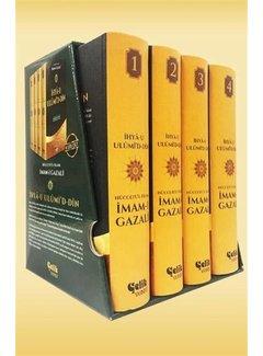 Çelik Yayınları İhya-u Ulumi'd Din 4 Cilt Takım ı Büyük Boy Şamua