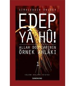 Edep Ya Hu -  1.Cilt