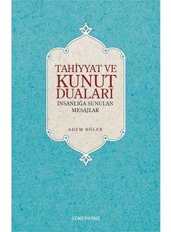 Semerkand Yayınları Tahiyyat ve Kunut Duaları