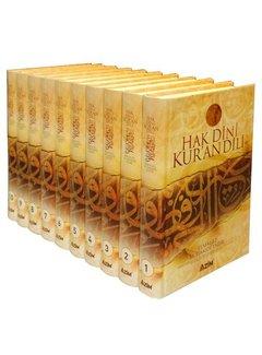 Azim Yayınları Hak Dini Kur'an Dili I 10 Cilt