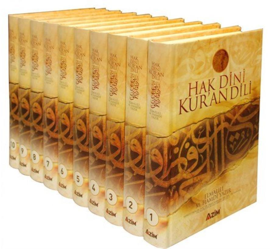 Hak Dini Kur'an Dili I 10 Cilt