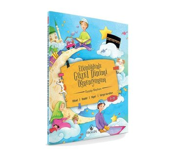 Hacegan Yayınları Etkinliklerle Güzel Dinimi Öğreniyorum 7 - 11 Yaş